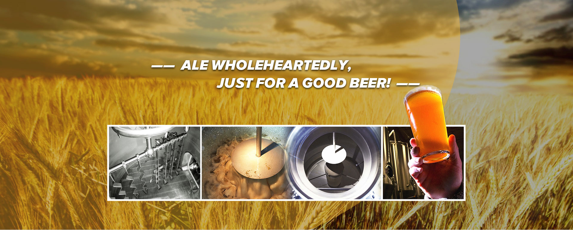 Beer Brewery Auxiliary Device Manufacturer China