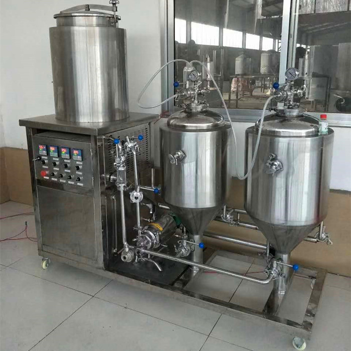 50 liters per batch brewery kit for home brew