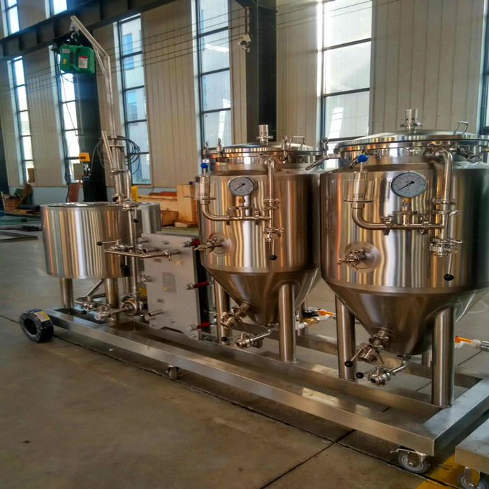 60l 100l Craft Beer Mini Brewing System For Home Brewer