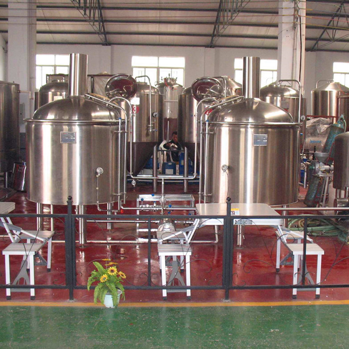 Pub bar academy draught beer brewing system 300L