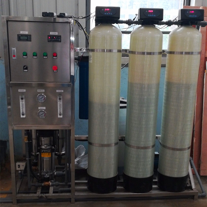 Brewery distillery water purification device reverse osmosis water treatment machine