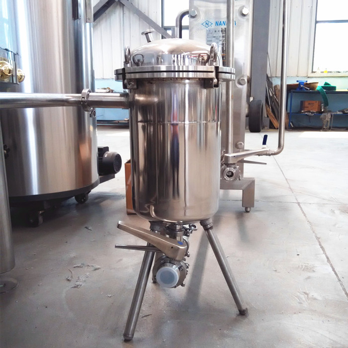 Draft beer brewery equipment brewhouse system hop back