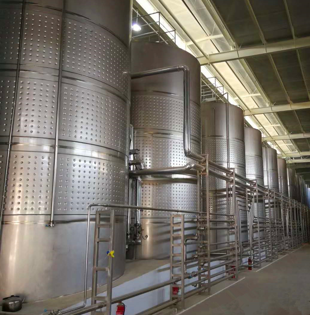 High quality winery system fruit wine brewing equipment