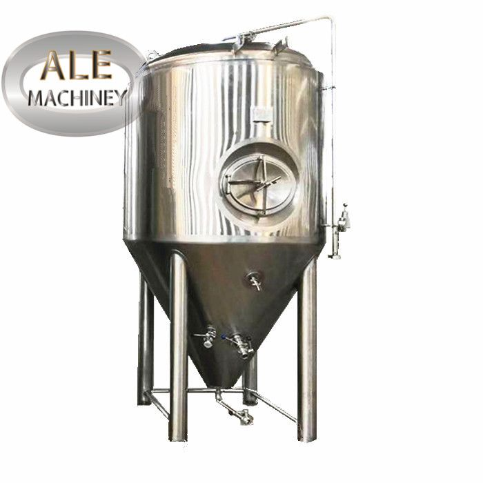 1000L Beer Fermenting Equipment Commercial Brewery System Cooking Block
