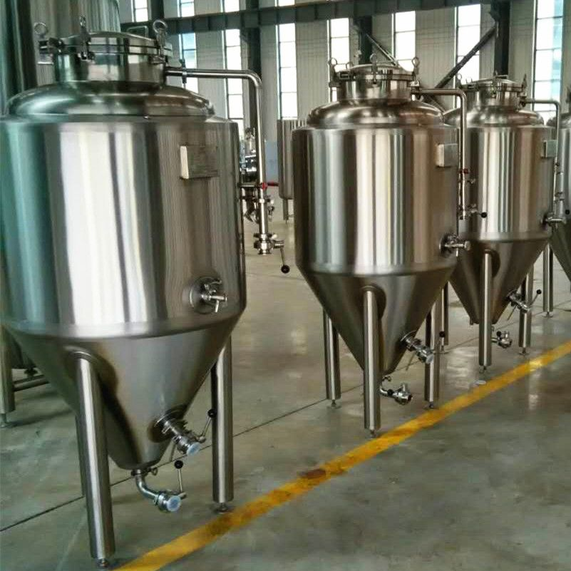 500L Beer Fermenting Equipment High Level German Technology CE qualified