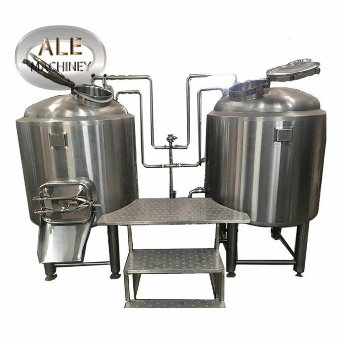bar brewing used 250 liters brewhouse and fermentation system