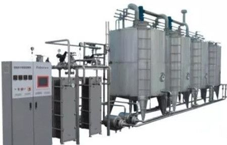 Basic cleaning operation process of CIP system